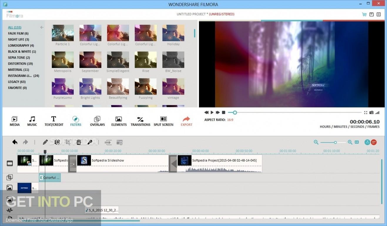 Wondershare Filmora 9 Effects Pack Offline Installer Download-GetintoPC.com
