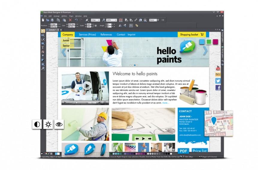 Xara Web Designer Premium offline Installer