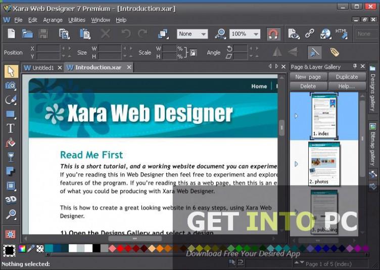 Xara Web Designer Premium Software