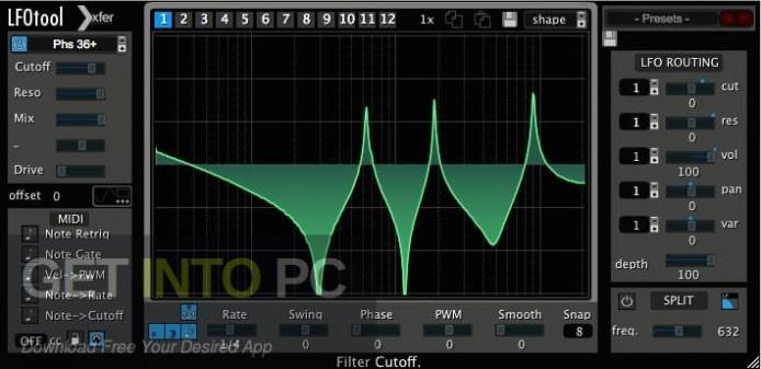 Xfer Records LFOTool VST Offline Installer Download-GetintoPC.com
