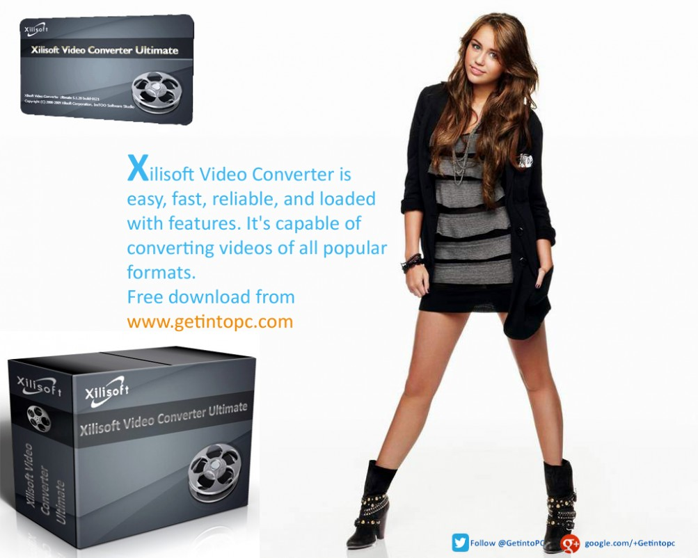 Xilisoft Video Converter  Ultimate Free Download