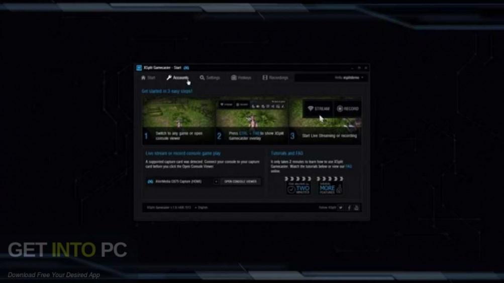 XSplit Gamecaster Direct Link Download-GetintoPC.com